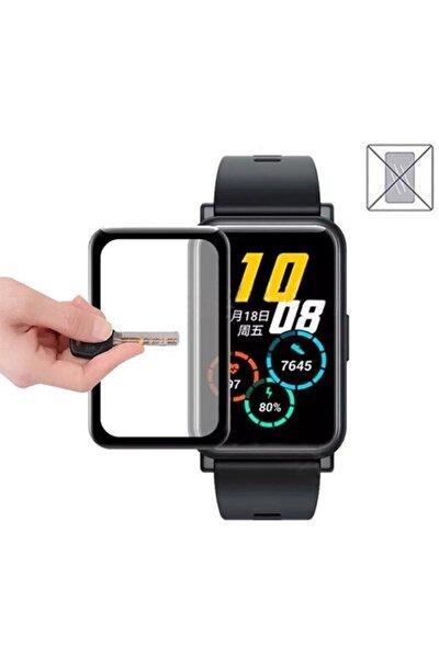 Huawei Watch Fit 3d Kavisli Tam Kaplama Ekran Koruyucu