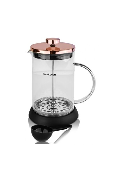 Coffee Bean Bronz French Press 800 Ml