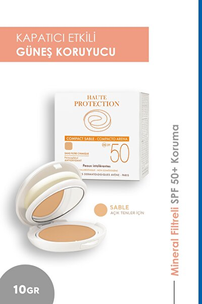Haute Protection Compact Teintee Sable Spf 50 10 gr