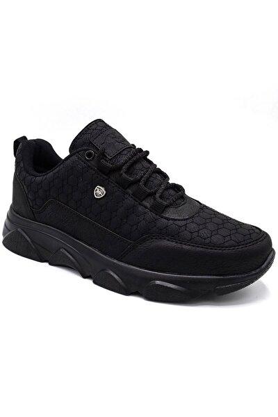 005 Erkek Spor Ayakkabı Siyah Siyah