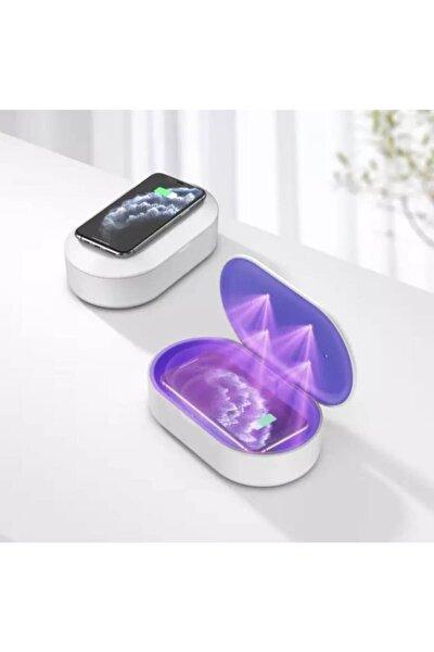 Ultraviyole-c Led Sterilizasyon Sistemli Kablosuz Şarj Cihazı