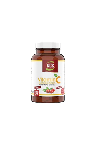 Vitamin C 1000 Mg 120 Tablet Kuşburnu Beta Glukan C Vitamini