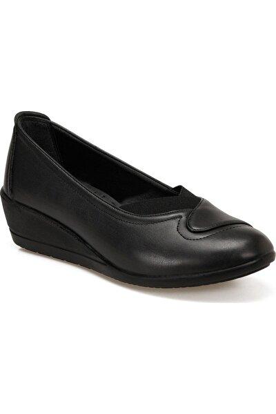 92.151026.Z Siyah Kadın Comfort Ayakkabı 100573788