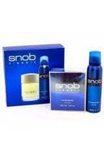 Orıjınal Snop Classic Edt Erkek Parfümü 100 Ml +snop Deodorant 150 Ml