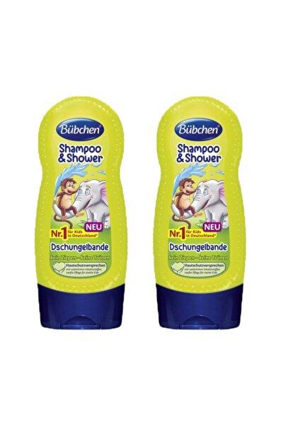 Tropik Orman Çocuk Şampuanı ve Duş Jeli 230 ml X 2 Adet