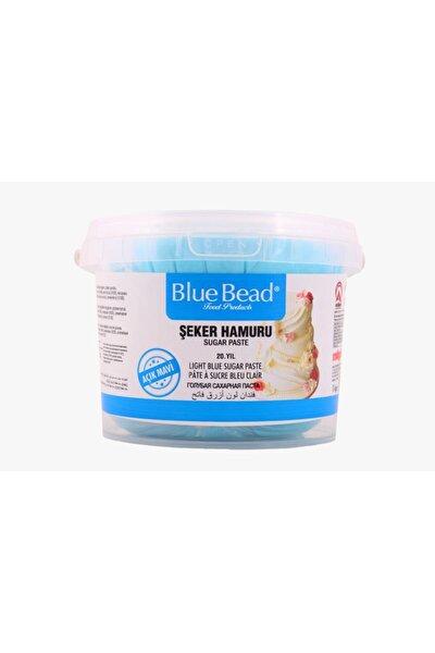 Açık Mavi Şeker Hamuru 1 kg