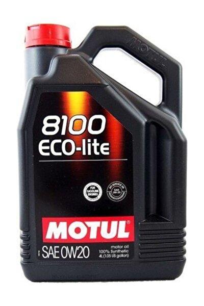8100 Eco-lite 0w20 4 L (2020 Üretimli)