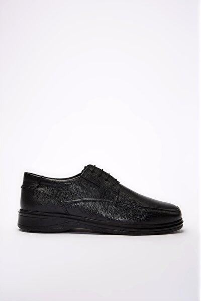 Hakiki Deri Siyah Erkek Casual Ayakkabı 02AYY195100A100