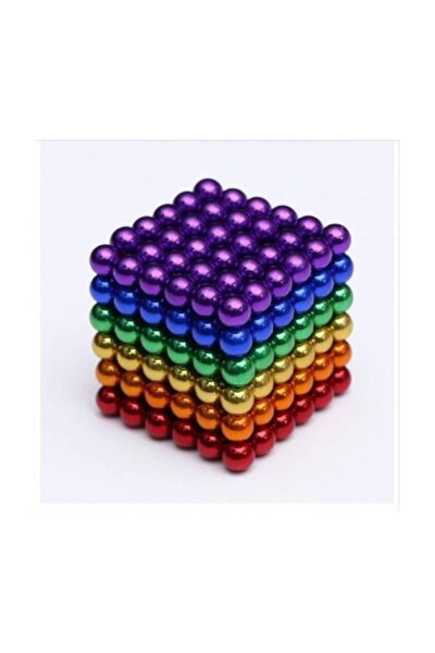 6 Farklı Renkli Sihirli Manyetik Toplar Neodyum Mıknatıs 216 Pcs