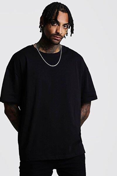 Siyah Basic Bol Kesim Oversize T-shirt 0yxe1-44124-02