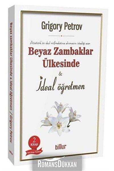 Beyaz Zambaklar Ülkesinde Ve Ideal Öğretmen Seti-2 Kitap Takım