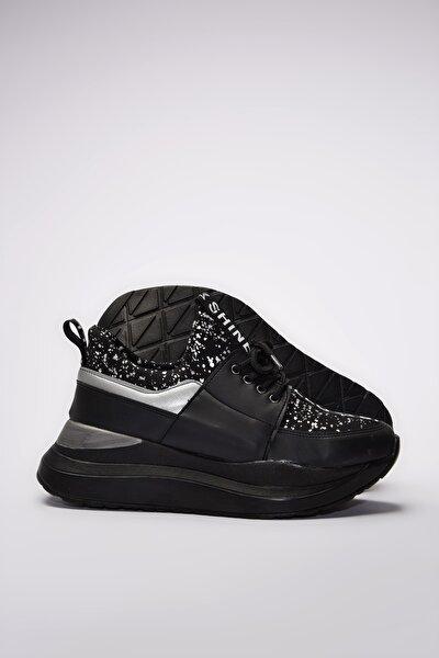 Siyah Kadın Sneaker 01AYY201160A102