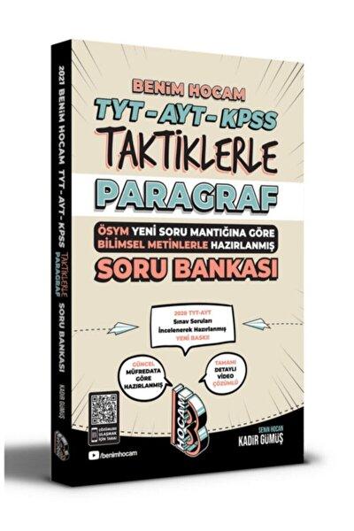 Tyt Ayt Kpss Taktiklerle Parağraf Soru Bankası Benim Hocam Yayınları