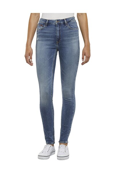 Kadın Denim Jeans Hıgh Rıse Skınny Santana Jymbs DW0DW06298