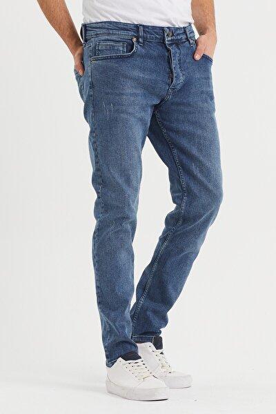 Erkek Mavi Jean 30/32/34 Boy Pantolon