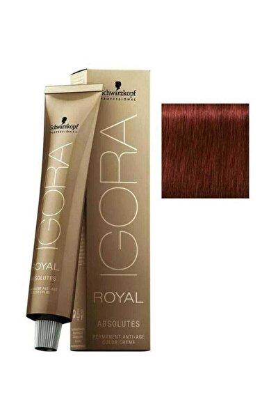 Koyu Kumral Doğal Kızıl Igora Royal Absolutes Saç Boyası 6-80 60 ml 4045787282474