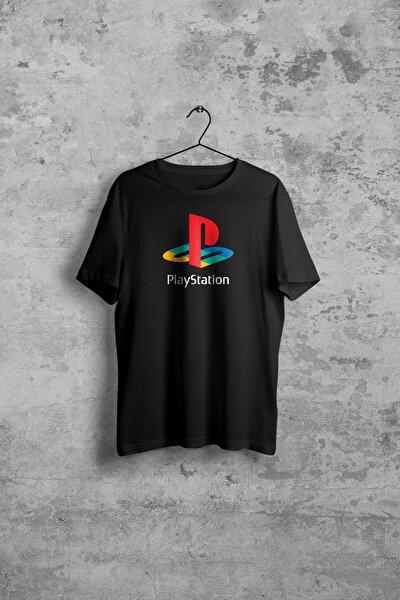 Playstation Erkek Siyah Tshirt