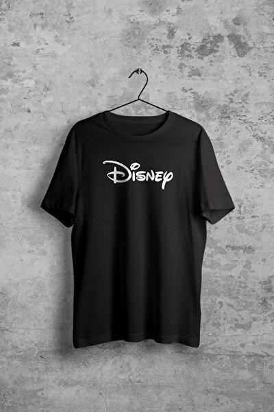 Disney Siyah Kadın Tshirt