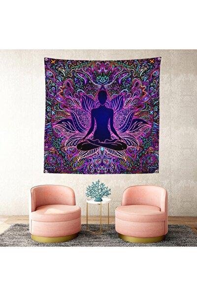 Rengarenk Dekoratif Özel Tasarım Tapestry Duvar Örtüsü