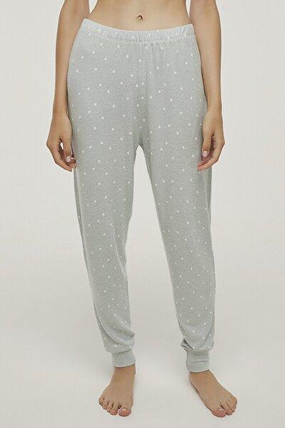 Kadın Renkli Bright Stars Pantolon