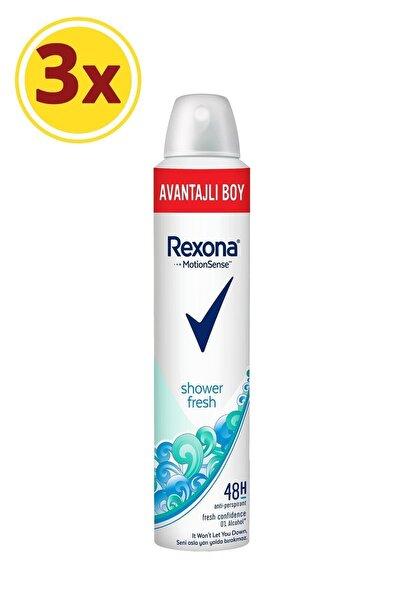 Kadın Deodorant Sprey Shower Fresh 200 Ml X3