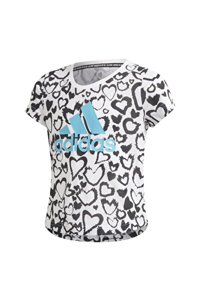 Ge0937-c G Mh Gra Tee Çocuk T-shirt Beyaz