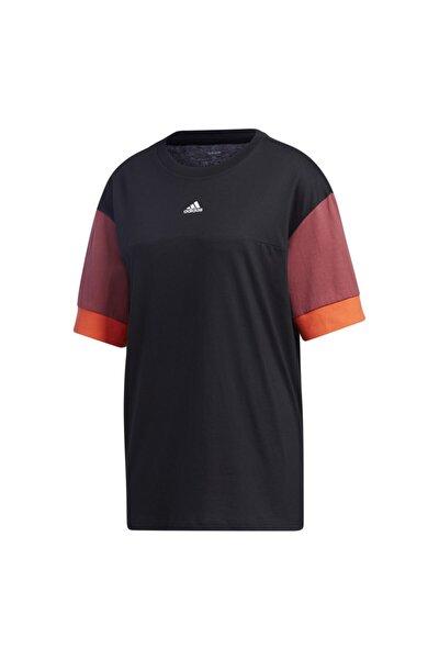 Gd9031-k W New A T Kadın T-shirt Siyah