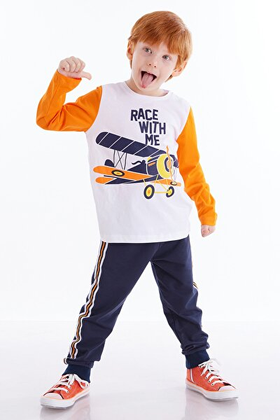 Yarışçı Erkek Çocuk Pantolon Takım