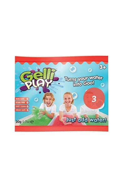 Gelli Play Kırmızı Tanışma Boyu 3'lü Paket