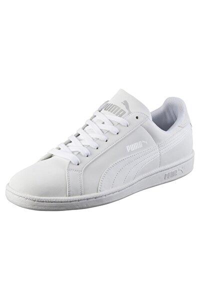 Unisex Beyaz Smash Buck Ayakkabı