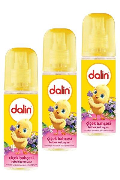Bebek Kolonyası Çiçek Bahçesi 150ml X 3 Adet