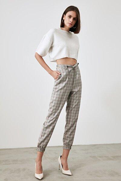 Çok Renkli Bağlamalı Pantolon TWOAW21PL0779