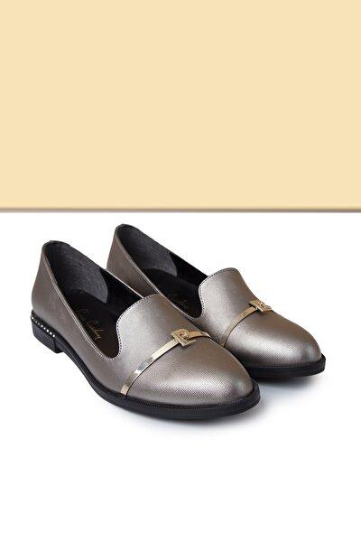 PC-50599 Platin Kadın Ayakkabı