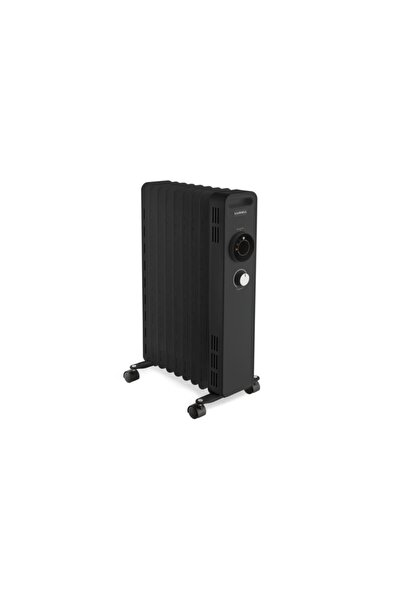 Siyah 9 Dilim Radyatör 2000w Lux-1225
