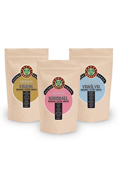3'lü Aromalı Filtre Kahve Van Fın  Kar