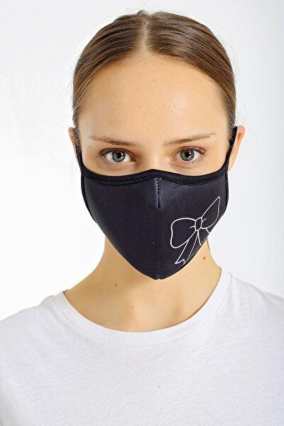 Fiyonk Baskılı Yıkanabilir Kumaş Bez Maske