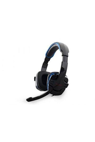 Rampage Oyuncu Siyah/Mavi Mikrofonlu Kulaklık
