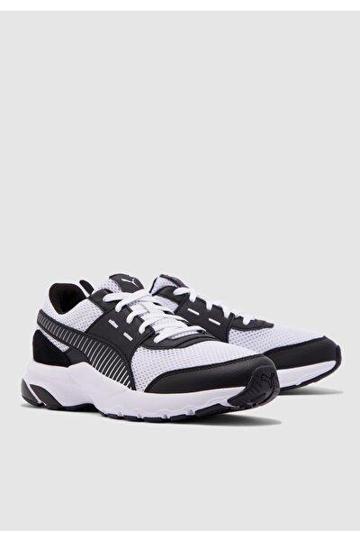 Erkek  Beyaz Siyah Future Runner Premium Yürüyüş Ayakkabısı