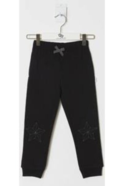 Kız Çocuk Siyah Pantolon WK19AW1225-B