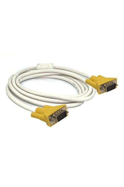 1.8m Vga Kablo Full Hd Projeksiyon Monitör Lcd Görüntü Kablosu