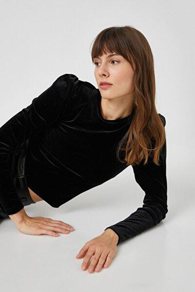Kadın Siyah T-Shirt 1KAK13440EK