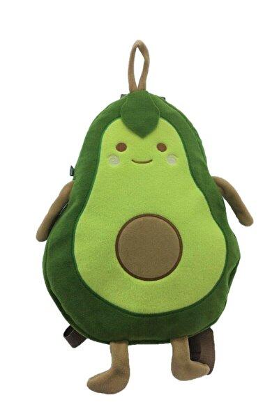 Unisex Çocuk Yeşil Avakado Sırt Çantası