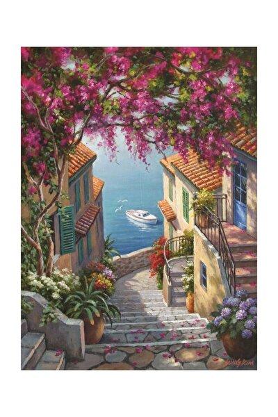 Kıyı Merdivenleri 1000 Parça Puzzle