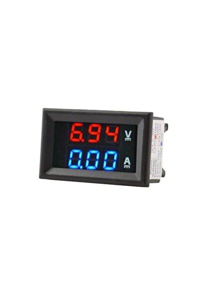 Dijital Voltmetre Ve Dijital Ampermetre Dc 100v 10a Gerilim Akım