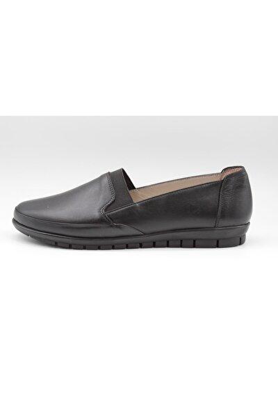 Kadın Siyah Ortopedik Günlük Rahat Ayakkabı