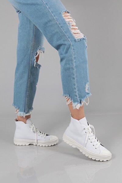 Kadın Beyaz Spor Ayakkabı 601