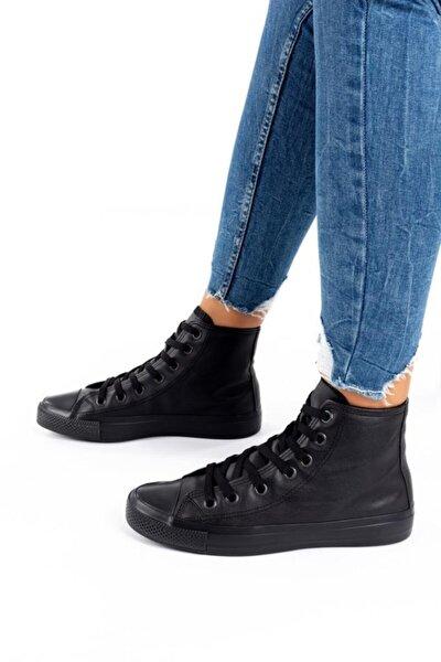 Unisex Cilt Uzun Spor Ayakkabı