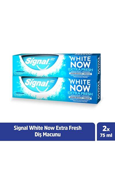 White Now Extra Fresh Anında Beyazlık + Ferahlık Diş Macunu 75 ml X2