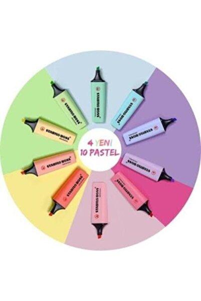 Stabılo Yeni Pastel Renkler Boss 10 Renk