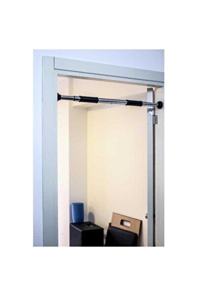 Kapı Barfiks Çubuğu 65-100 Cm Ayarlanabilir Barfiks Çekme Demiri Barfiks Aleti